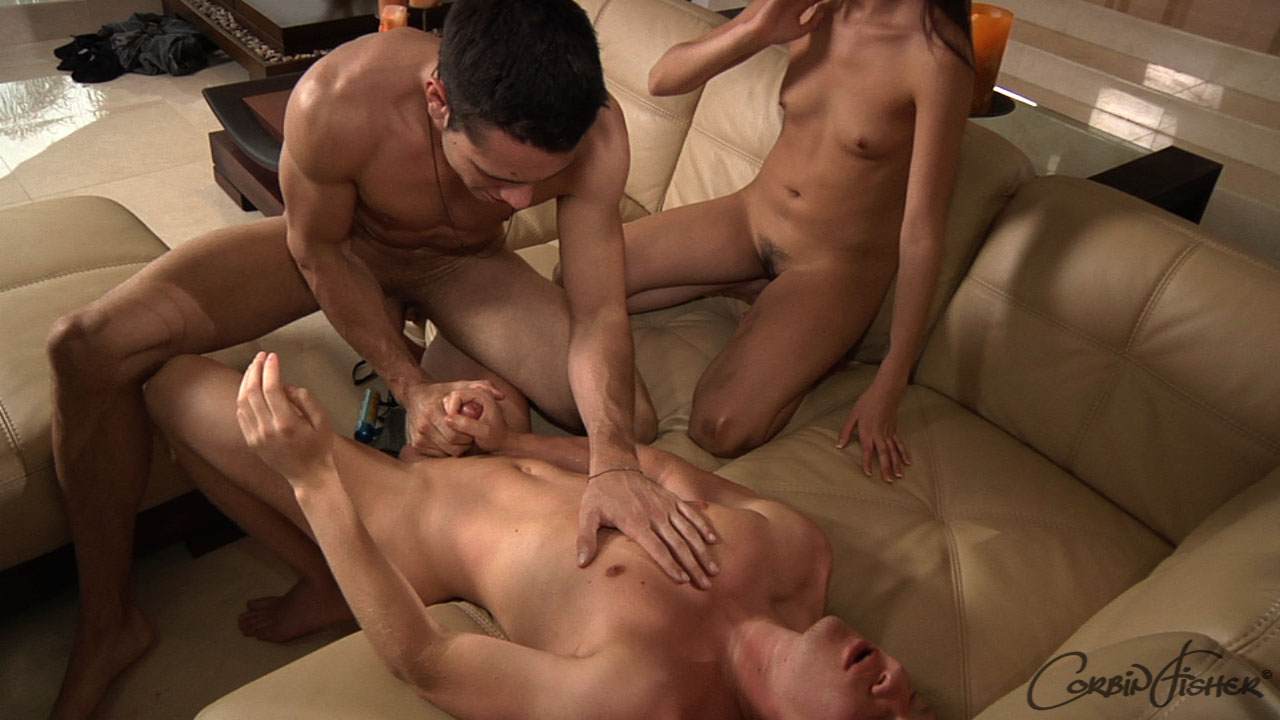 American College Sex: Trey & Josh Drill Jackie