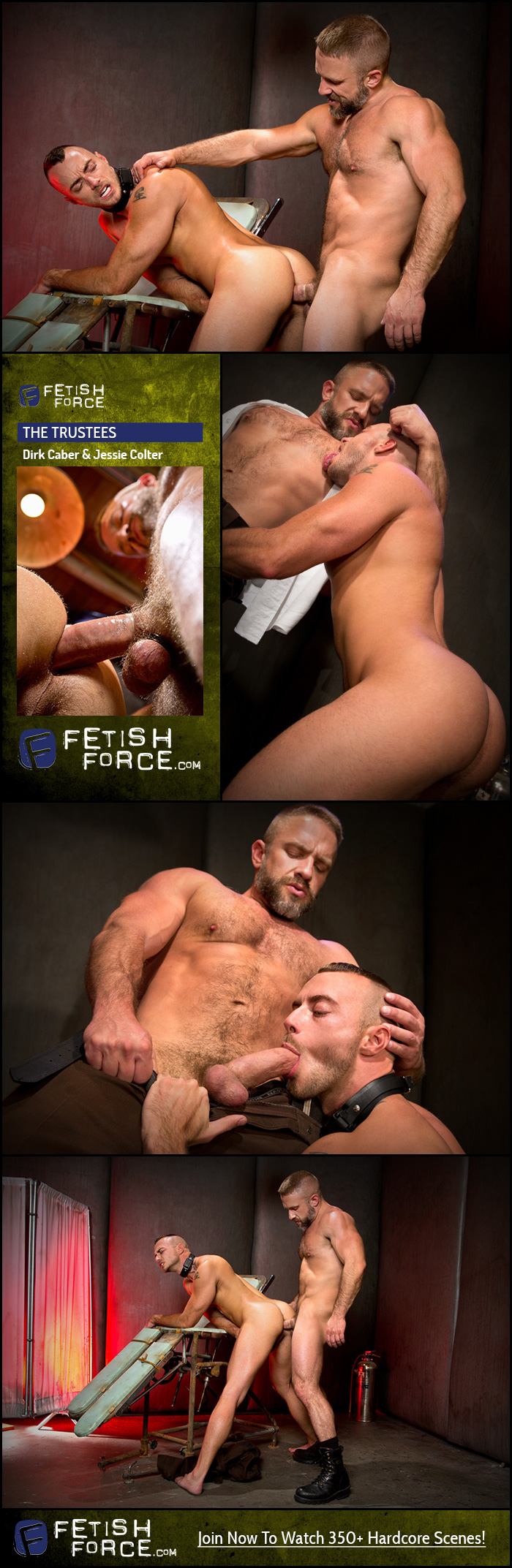 Fetish Force – Dirk Caber & Jessie Colter