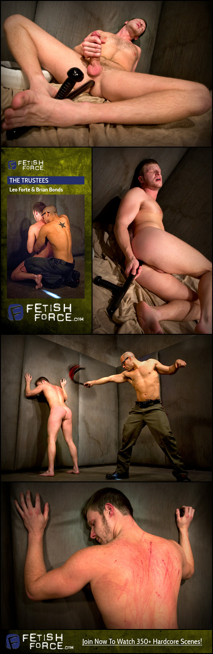 Fetish Force – Leo Forte & Brian Bonds