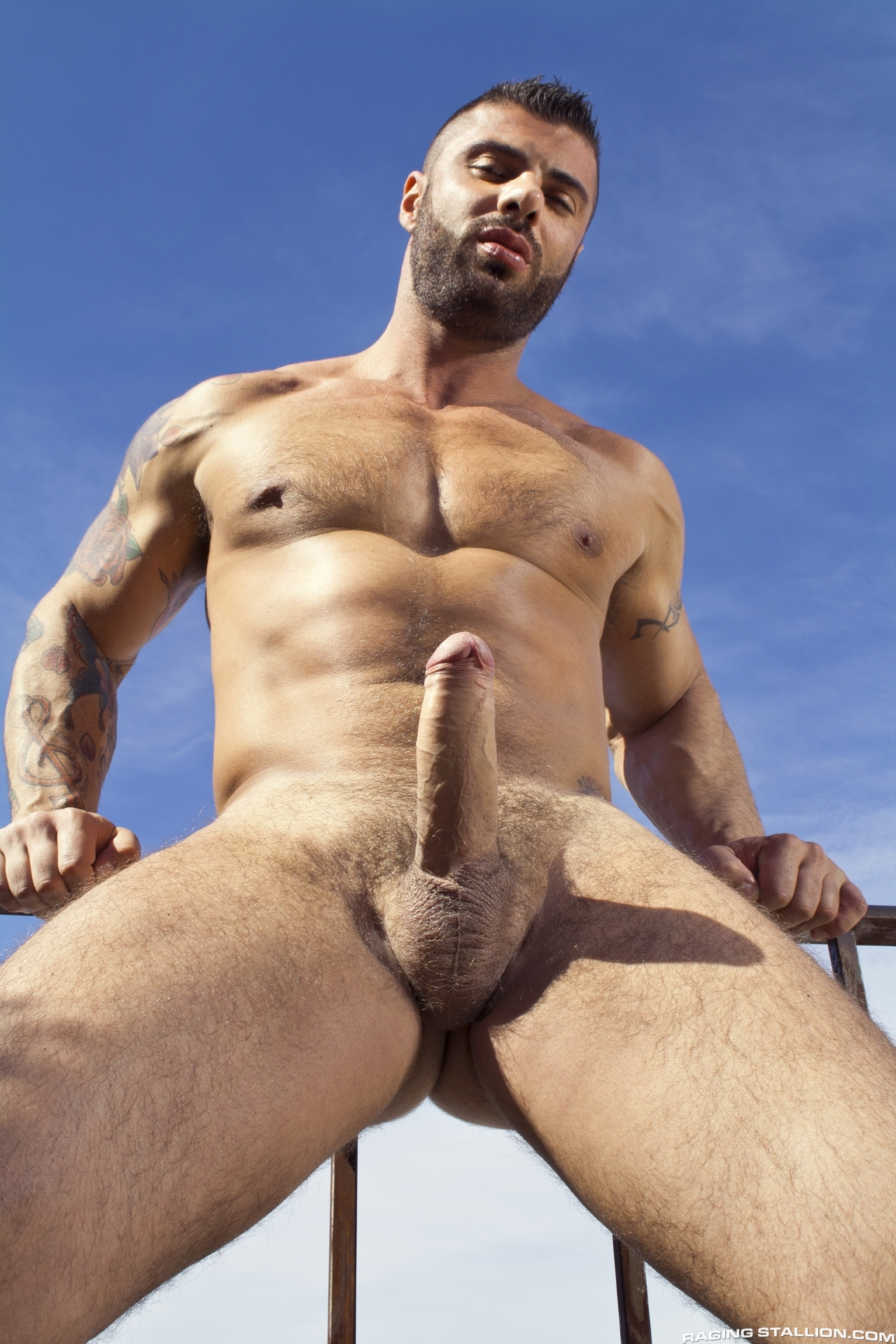 Raging Stallion – Damien Crosse & Alex Marte