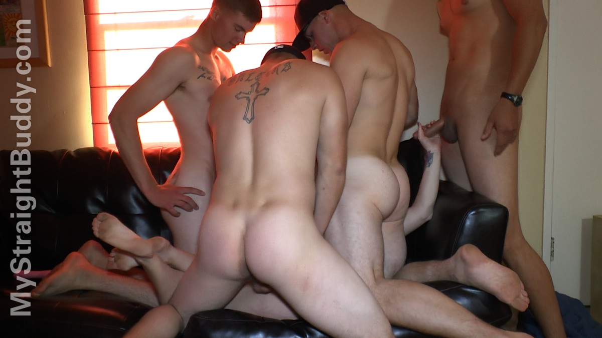 My Straight Buddy: Four Horny Marines Part 2
