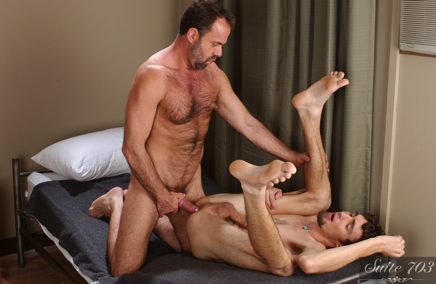Men Hard at Work: Dodger Wolf and Keith Hunter