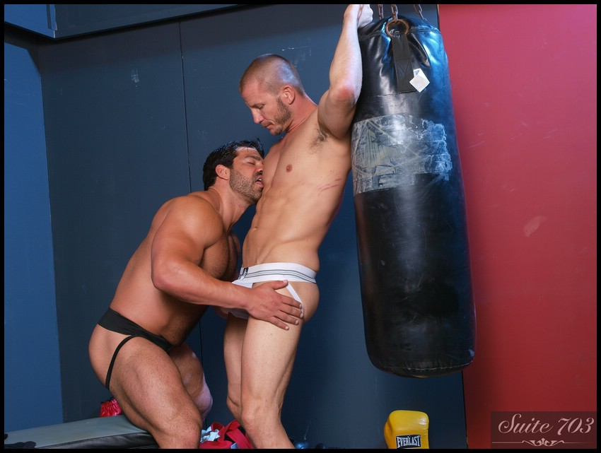Hot Jocks Nice Cocks: Brenn Wyson and Vince Ferelli
