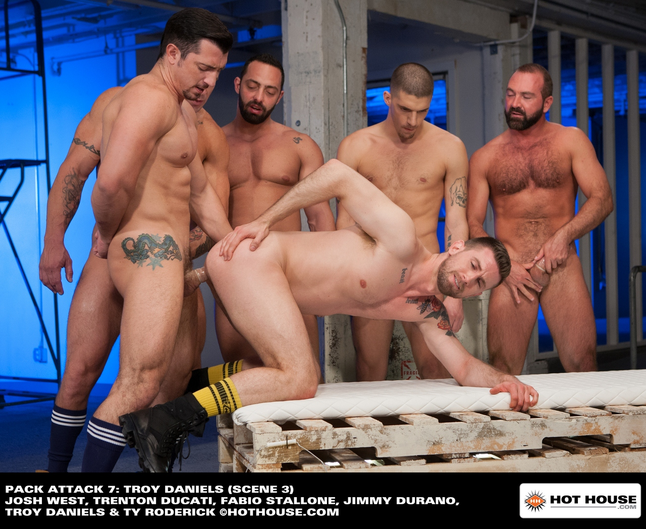 Hot House – Pack Attack 7: Troy Daniels (Scene 3)