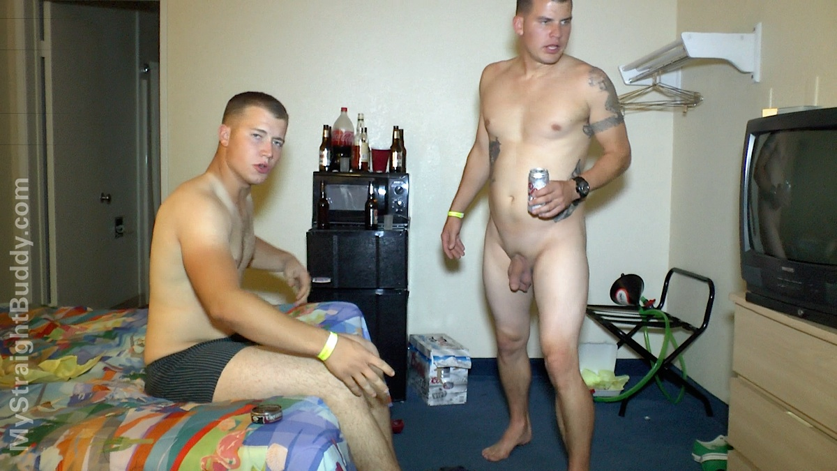 My Straight Buddy: Naked Marines Hotel Party Pt 1