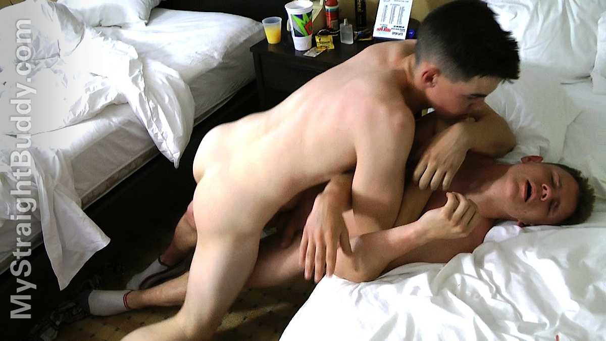 My Straight Buddy: Motel Jerk Off