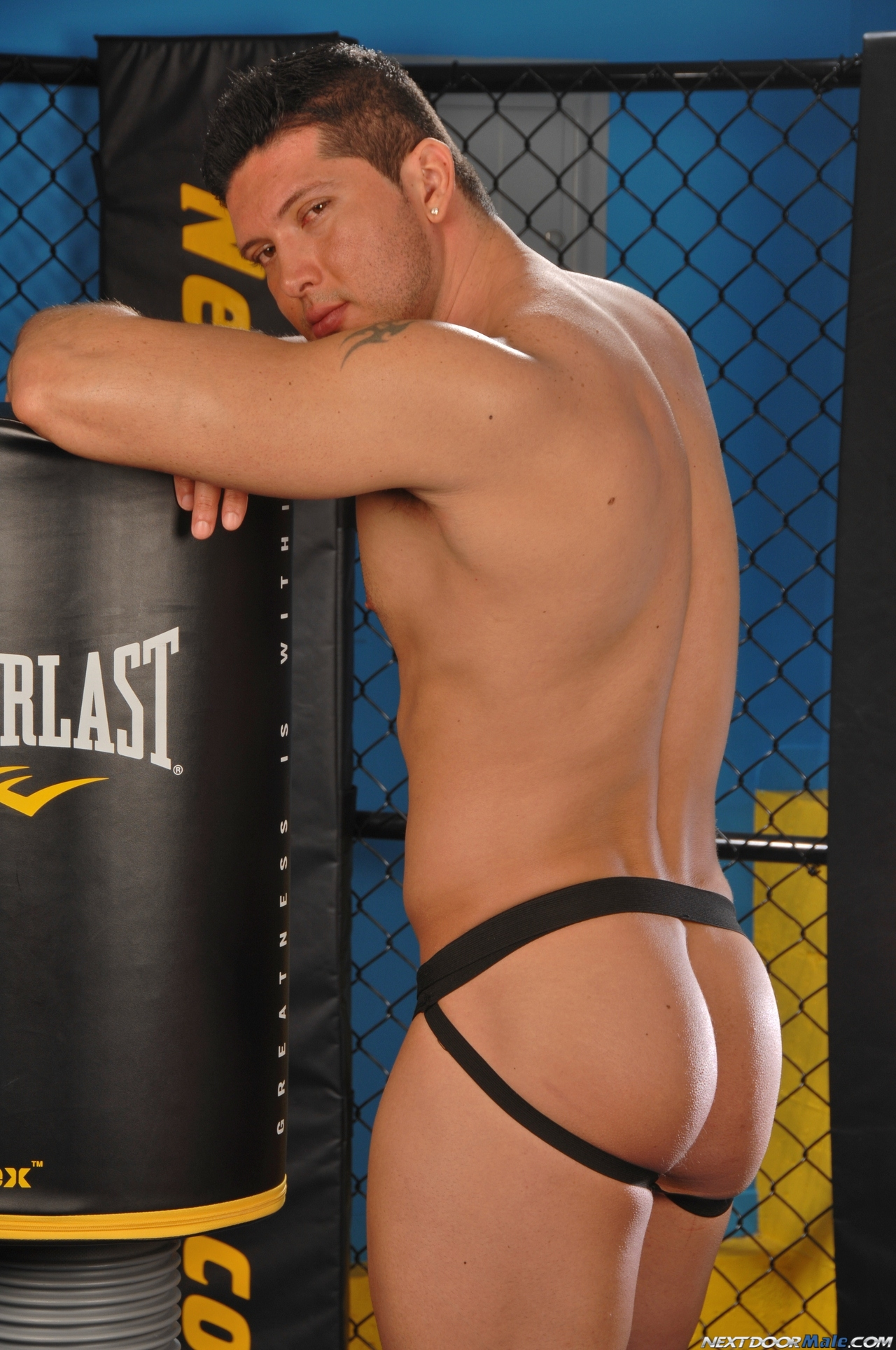 Next Door Male: Will Evans (Workout Stokeout)