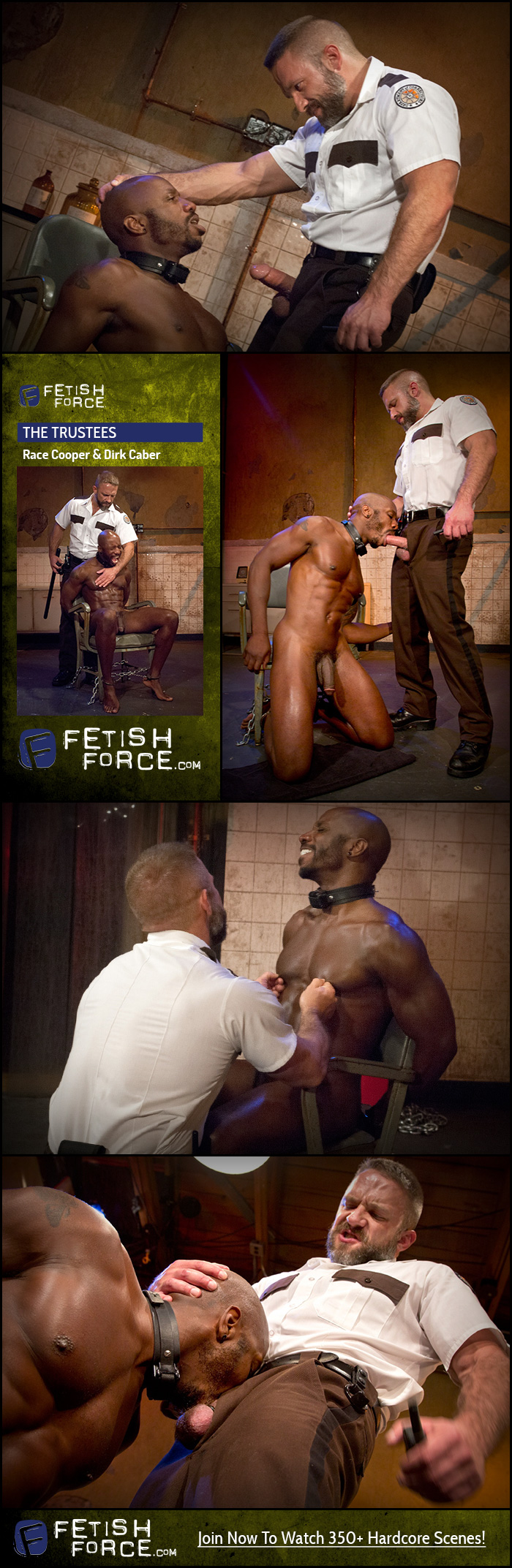 Fetish Force – Race Cooper & Dirk Caber