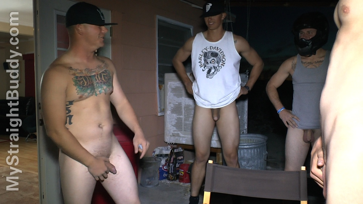 My Straight Buddy: Four Horny Marines Part 1