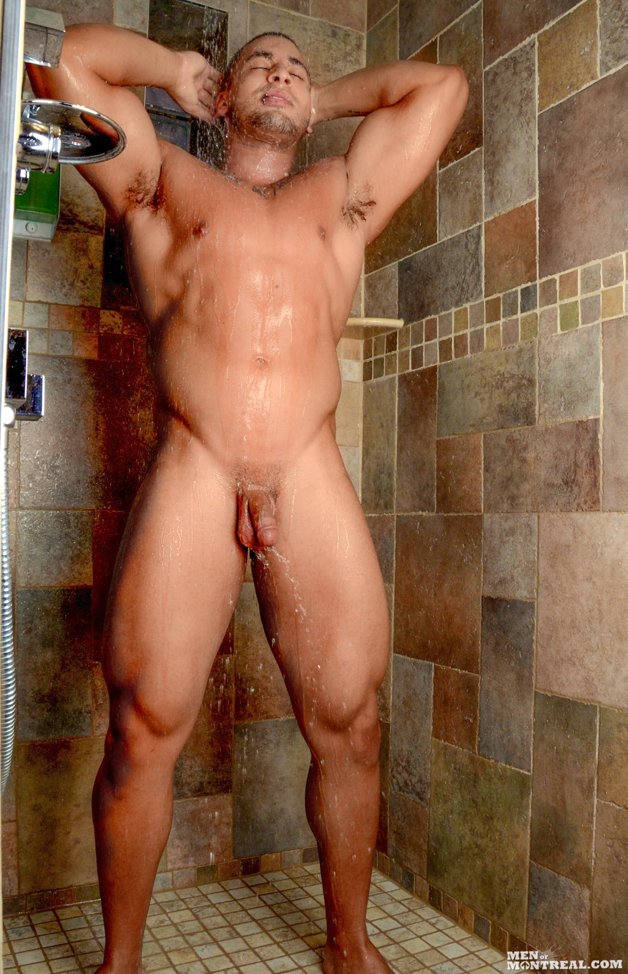 Men of Montreal – Kamal's Shower JO Solo