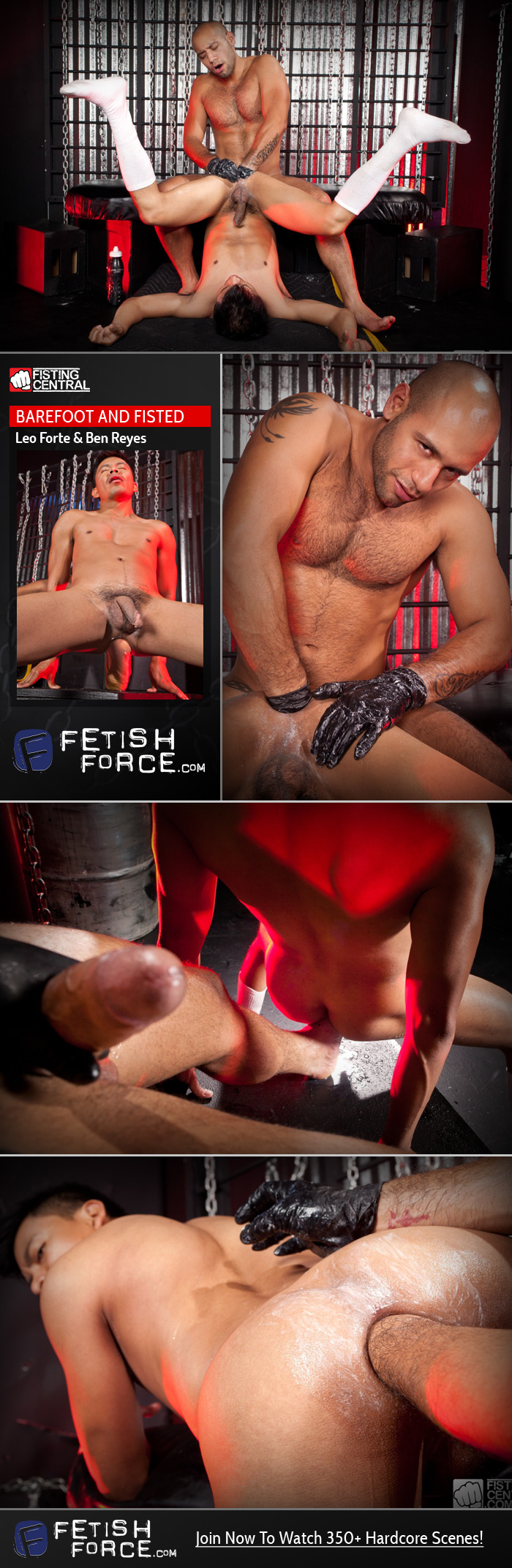 Fetish Force – Leo Forte & Ben Reyes